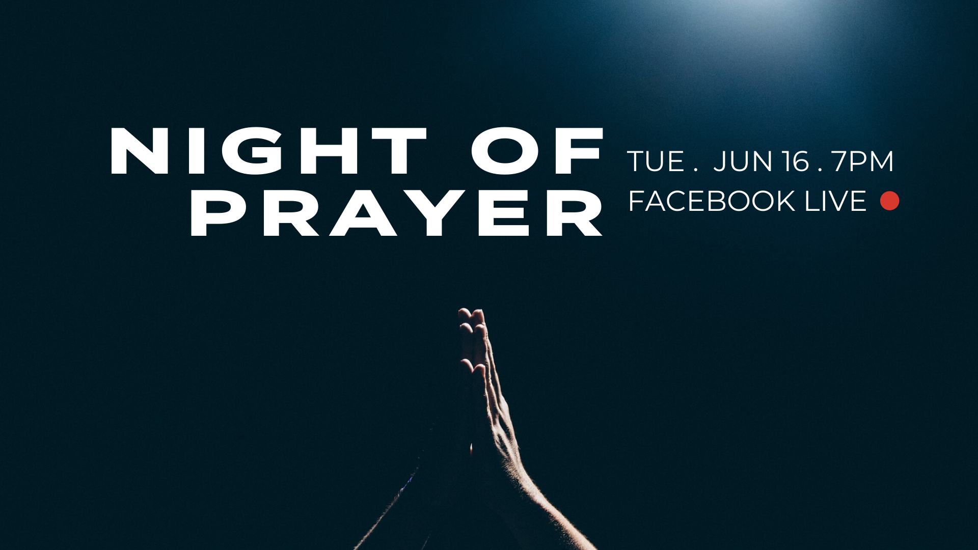 Night of Prayer – Online
