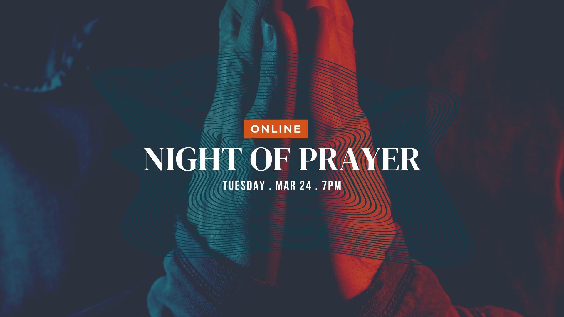 Prayer Night – Online